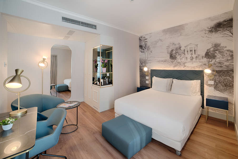Image: Room at NH Collection Roma Fori Imperiali near the Trevi Fountain