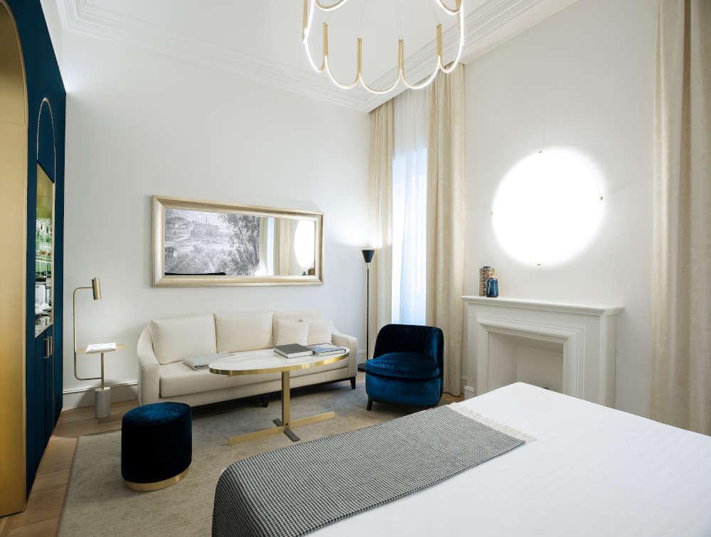 Image: Room of Elizabeth Unique boutique hotel in Rome