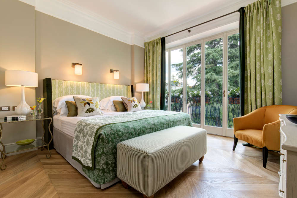 Image: Suite at Hotel De Russie one of the best 5-star hotels in Rome
