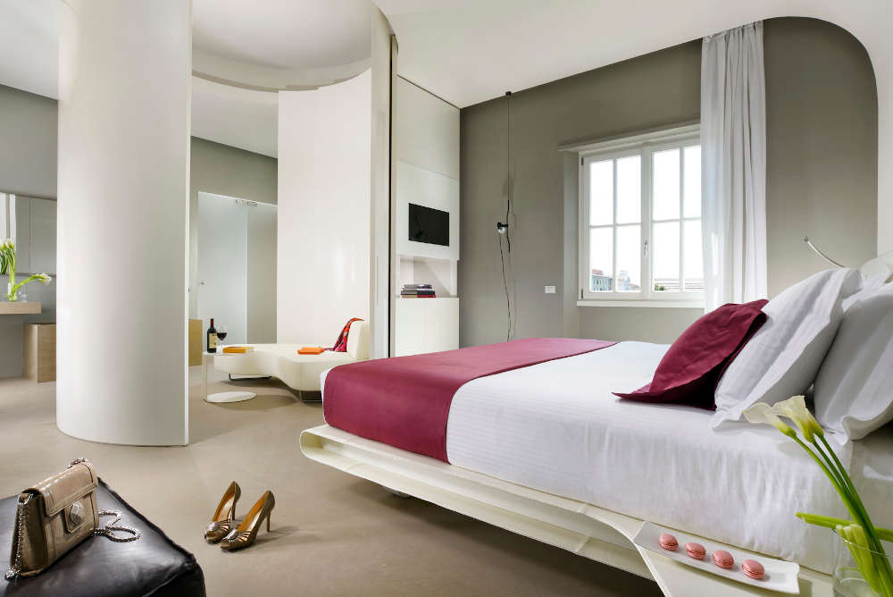 Image: Suite at Palazzo Montemartini five-star hotel in Rome
