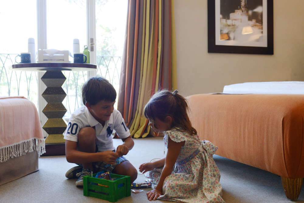 Image: Family room at Hotel De Russie one of the best hotels with kids in Rome