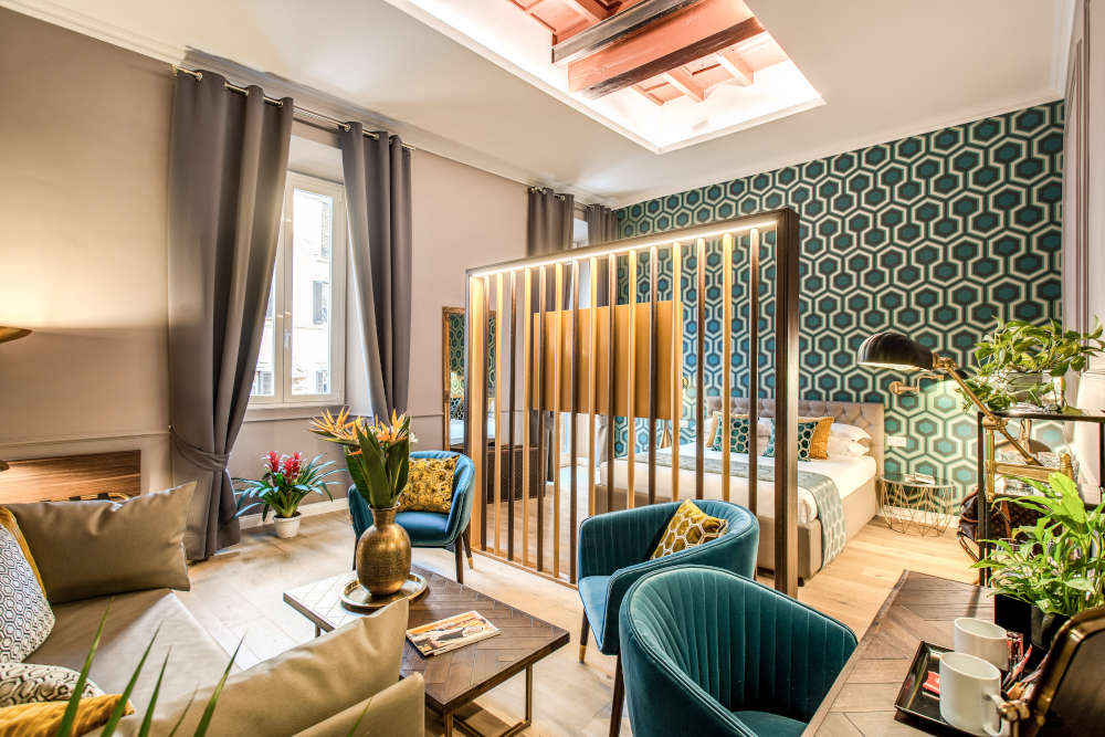 Image: Suite of Tree Charme Parliament Boutique Hotel in Rome