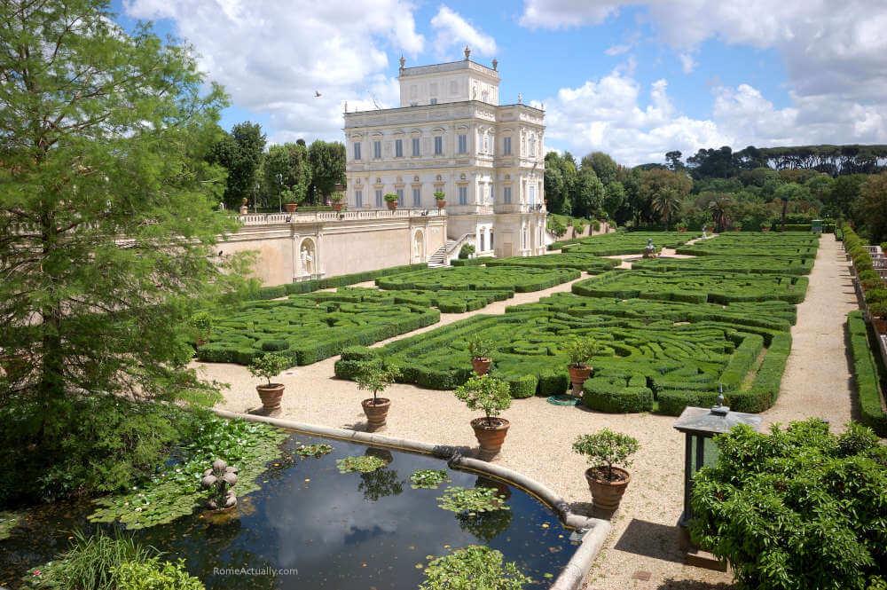 Image: Villa Pamphilj park in Rome travel guide