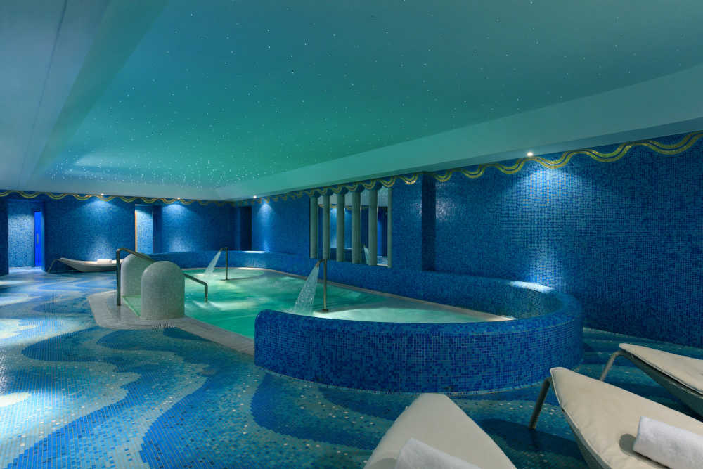 Image: Spa at hotel de Russie, one of the best Rome hotels with indoor pool