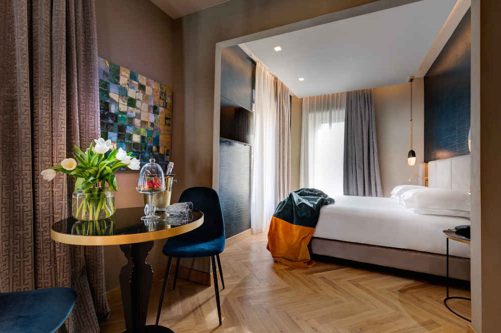 Image: Dharma Boutique hotel in Rome for couples