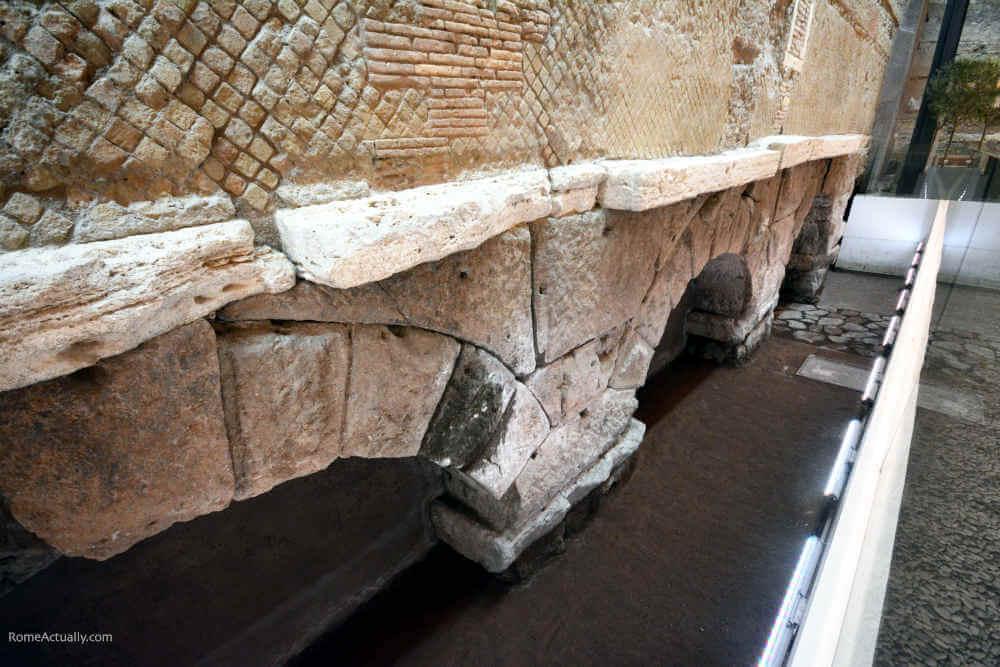 Image: Aqua Virgo ancient ruins in Rome