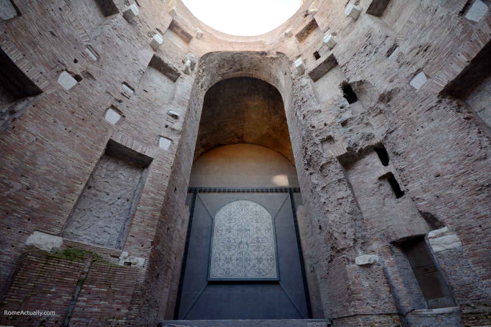 Image: Diocletian Baths ancient ruins at Museo Nazionale Romano