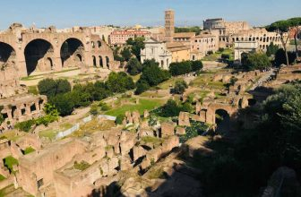 Image: Ancient sites in Rome