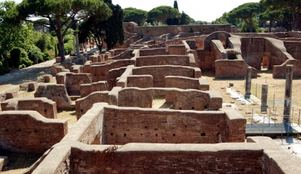 Incredible discovery at Ostia Antica: child's grave protected by a curse