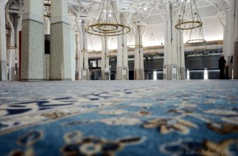 Shapes, lights and patterns of Rome's grand mosque